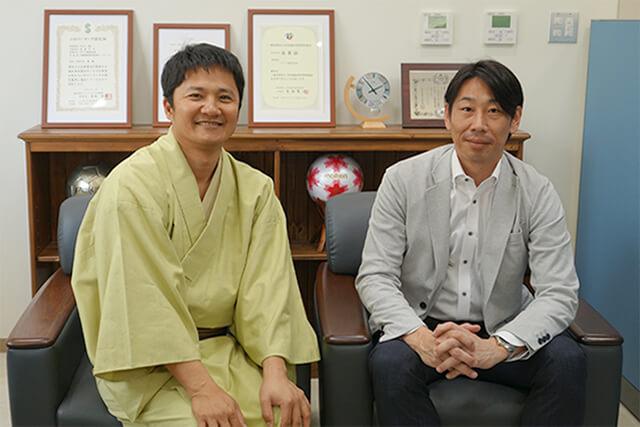 サトウ株式会社 代表取締役社長 佐藤大介様